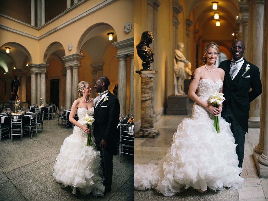 Heather Awori The Walters Art Museum Wedding Baltimore Maryland Photography