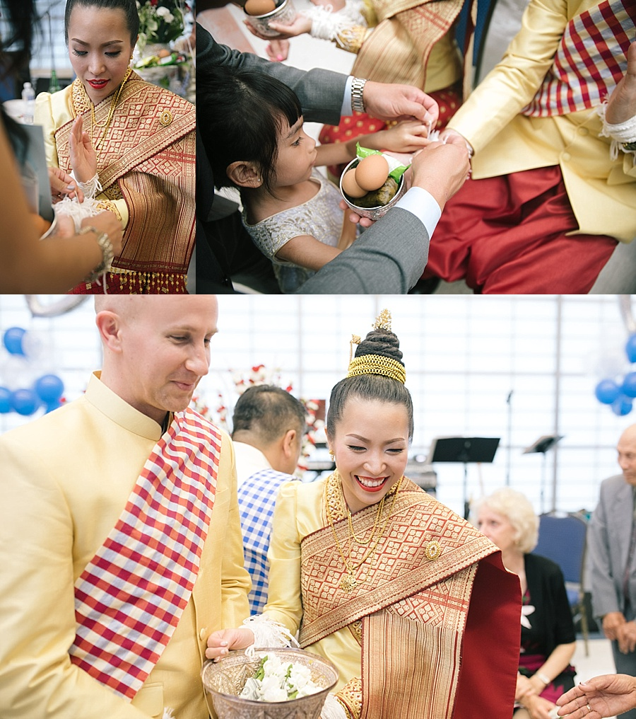 Traditional Thai And Laos Wedding Ceremony